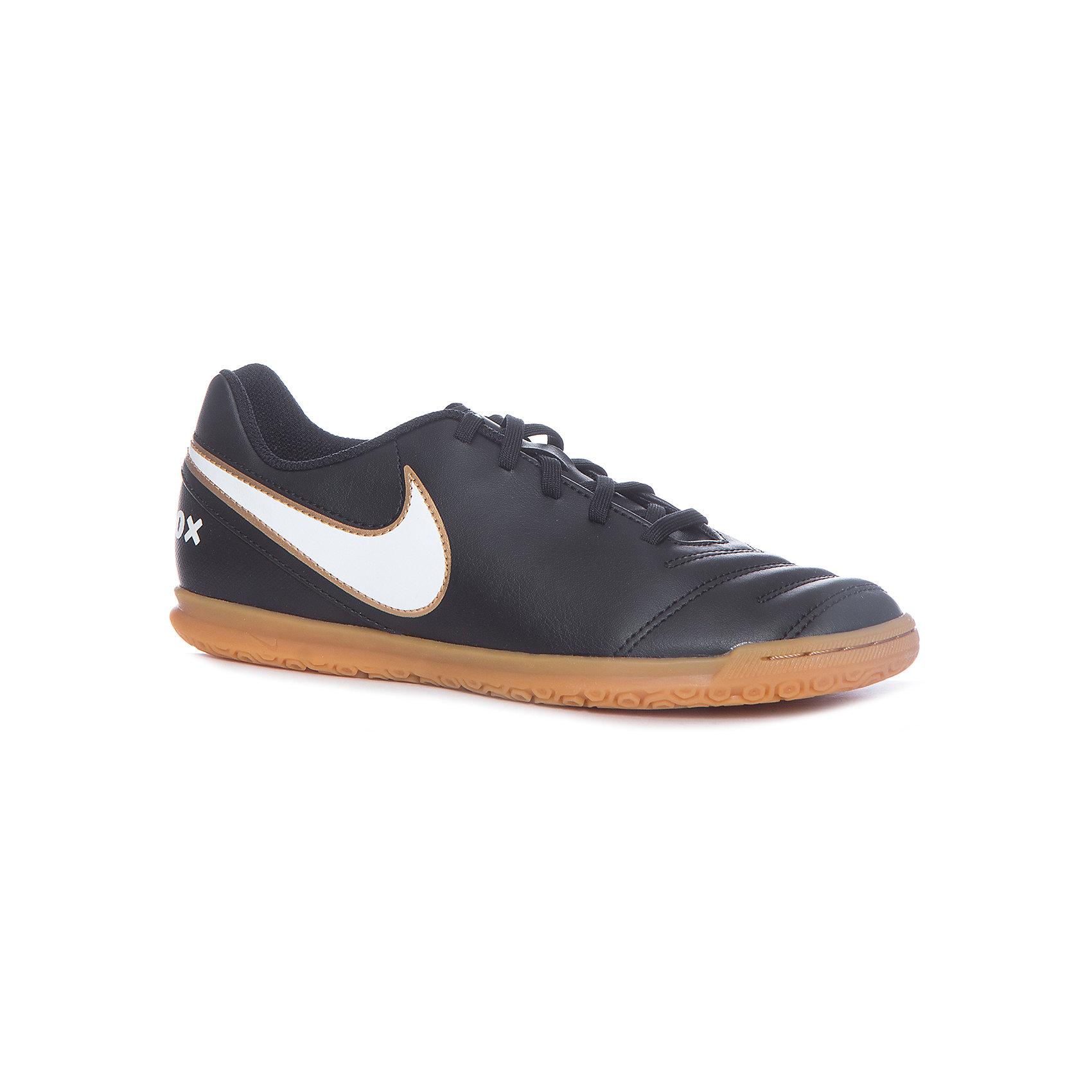 Кеды Nike JR Tiempo Rio IIIКеды<br>Характеристики товара:<br><br>• цвет: черный<br>• спортивный стиль<br>• внешний материал обуви: искусственная кожа<br>• внутренний материал: текстиль<br>• стелька: текстиль, ЭВА<br>• подошва: резина<br>• декорированы логотипом<br>• вставка в подошве для мягкой амортизации<br>• тип застежки: шнуровка<br>• сезон: весна, лето<br>• температурный режим: от +10°С до +20°С<br>• устойчивая подошва<br>• защищенный мыс и пятка<br>• износостойкий материал<br>• коллекция: весна-лето 2017<br>• страна бренда: США<br>• страна изготовитель: Индонезия<br><br>Продукция бренда NIKE известна высоким качеством, уникальным узнаваемым дизайном и проработанными деталями, которые создают удобство при занятиях спортом и долгой ходьбе. Натуральная кожа в качестве внутреннего материала помогает этой модели обеспечить ребенку комфорт и предотвратить натирание.<br><br>Уход за такой обувью прост, она легко чистится и быстро сушится. Надевается элементарно благодаря удобной шнуровке.<br><br>Обувь качественно проработана, она долго служит, удобно сидит, отлично защищает детскую ногу от повреждений. Стильно выглядит и хорошо смотрится с одеждой разных цветов и стилей.<br><br>Кеды NIKE (Найк) можно купить в нашем интернет-магазине.<br><br>Ширина мм: 250<br>Глубина мм: 150<br>Высота мм: 150<br>Вес г: 250<br>Цвет: черный<br>Возраст от месяцев: 132<br>Возраст до месяцев: 144<br>Пол: Мужской<br>Возраст: Детский<br>Размер: 34.5,33.5,35.5,36.5,37,32,34,31.5<br>SKU: 6758806
