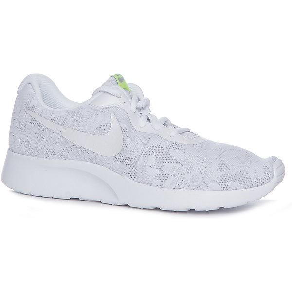 Кроссовки Nike Tanjun ENGКроссовки<br>Характеристики товара:<br><br>• цвет: белый<br>• спортивный стиль<br>• внешний материал обуви: искусственная кожа<br>• внутренний материал: текстиль<br>• стелька: текстиль<br>• подошва: резина<br>• декорированы логотипом и кружевом<br>• вставка в подошве для мягкой амортизации<br>• тип застежки: шнуровка<br>• сезон: весна, лето<br>• температурный режим: от +10°С до +20°С<br>• устойчивая подошва<br>• защищенный мыс и пятка<br>• износостойкий материал<br>• коллекция: весна-лето 2017<br>• страна бренда: США<br>• страна изготовитель: Индонезия<br><br>Продукция бренда NIKE известна высоким качеством, уникальным узнаваемым дизайном и проработанными деталями, которые создают удобство при занятиях спортом и долгой ходьбе. Натуральная кожа в качестве внутреннего материала помогает этой модели обеспечить ребенку комфорт и предотвратить натирание.<br><br>Уход за такой обувью прост, она легко чистится и быстро сушится. Надевается элементарно благодаря удобной шнуровке.<br><br>Обувь качественно проработана, она долго служит, удобно сидит, отлично защищает детскую ногу от повреждений. Стильно выглядит и хорошо смотрится с одеждой разных цветов и стилей.<br><br>Кроссовки NIKE (Найк) можно купить в нашем интернет-магазине.<br><br>Ширина мм: 250<br>Глубина мм: 150<br>Высота мм: 150<br>Вес г: 250<br>Цвет: белый<br>Возраст от месяцев: 144<br>Возраст до месяцев: 156<br>Пол: Женский<br>Возраст: Детский<br>Размер: 36,34.5,35,40.5,38.5,38,37.5,37<br>SKU: 6758888