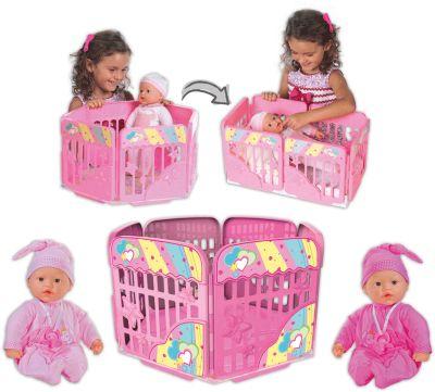 Кукла My Dolly Sucette с игровой площадкой, Loko Toys