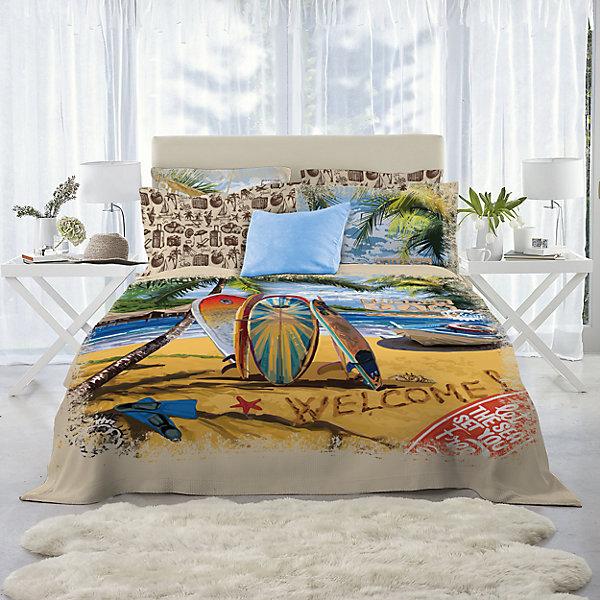 Постельное белье 2-х сп. Mona Liza, SurfВзрослое постельное бельё<br>Постельное белье Surf 2 сп., Mona Liza (Мона Лиза), нав. 70*70 и 50*70<br><br>Характеристики:<br><br>• в комплекте: простынь, пододеяльник, 4 наволочки<br>• материал: бязь 135 г/м2<br>• состав: 100% хлопок<br>• размер пододеяльника: 175х210 см<br>• размер простыни: 240х215 см<br>• размер наволочек: 70х70 - 2 шт; 50х70 см - 2 шт.<br>• размер упаковки: 37х8х29 см<br>• вес: 2000 грамм<br><br>Комплект изготовлен из высококачественной бязи, гипоаллергенной и износостойкой. Бязь подарит вам комфортные ощущения, позволяя коже дышать и отводя лишнюю влагу. Гипоаллергенность материала будет огромным плюсом для людей с чувствительной кожей. После стирки белье не теряет яркость цвета и не уседает в размере.<br><br>Постельное белье Surf 2 сп., Mona Liza (Мона Лиза), нав. 70*70 и 50*70 можно купить в нашем интернет-магазине.<br><br>Ширина мм: 290<br>Глубина мм: 80<br>Высота мм: 370<br>Вес г: 2000<br>Возраст от месяцев: 144<br>Возраст до месяцев: 600<br>Пол: Унисекс<br>Возраст: Детский<br>SKU: 6760518