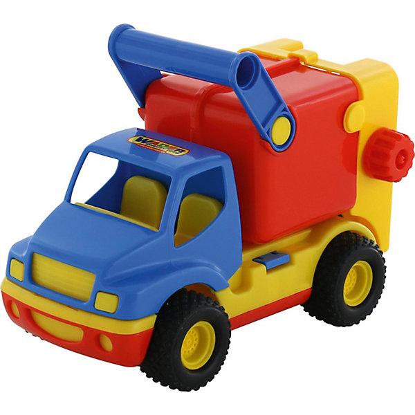 Автомобиль коммунальный КонсТрак, в ассортименте, ПолесьеМашинки<br><br>Ширина мм: 285; Глубина мм: 145; Высота мм: 195; Вес г: 498; Возраст от месяцев: 36; Возраст до месяцев: 2147483647; Пол: Мужской; Возраст: Детский; SKU: 6760751;