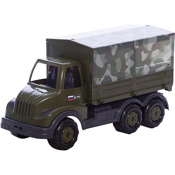 Автомобиль бортовой тентовый военный Муромец, ПолесьеВоенный транспорт<br>Характеристики товара:<br><br>• возраст: от 3 лет<br>• материал: пластик<br>• размер упаковки: 45х45х34 см.<br>• страна бренда: Беларусь.<br><br>Автомобиль военный для игр в песке, на свежем воздухе и в домашних условиях.<br><br>Автомобиль не имеет каких-либо острых углов и режущей кромки.<br><br>Автомобиль бортовой тентовый военный Муромец, Полесье можно купить в нашем интернет-магазине.<br>Ширина мм: 420; Глубина мм: 165; Высота мм: 225; Вес г: 780; Возраст от месяцев: 36; Возраст до месяцев: 2147483647; Пол: Мужской; Возраст: Детский; SKU: 6760752;