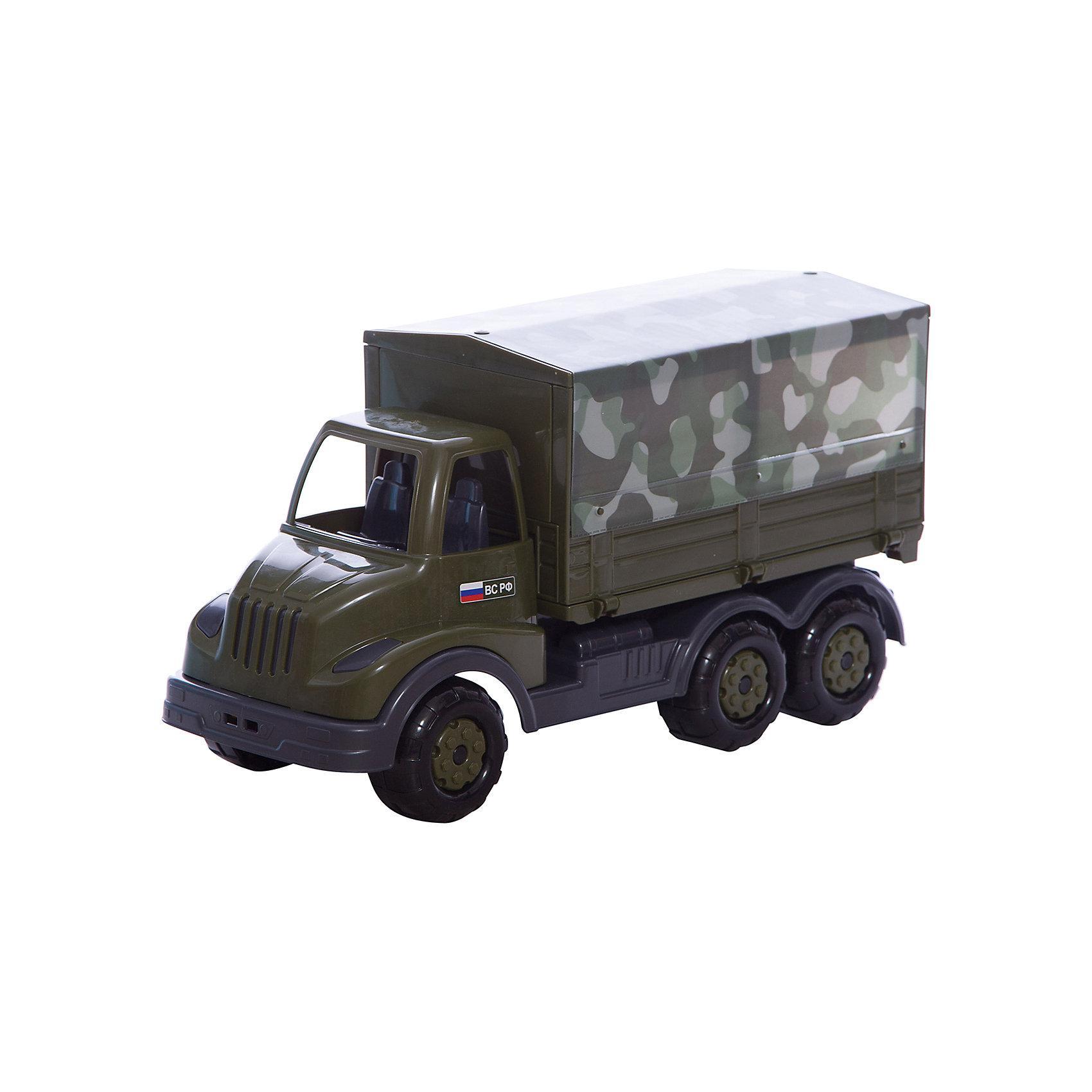 Автомобиль бортовой тентовый военный Муромец, ПолесьеВоенный транспорт<br>Характеристики товара:<br><br>• возраст: от 3 лет<br>• материал: пластик<br>• размер упаковки: 45х45х34 см.<br>• страна бренда: Беларусь.<br><br>Автомобиль военный для игр в песке, на свежем воздухе и в домашних условиях.<br><br>Автомобиль не имеет каких-либо острых углов и режущей кромки.<br><br>Автомобиль бортовой тентовый военный Муромец, Полесье можно купить в нашем интернет-магазине.<br><br>Ширина мм: 420<br>Глубина мм: 165<br>Высота мм: 225<br>Вес г: 780<br>Возраст от месяцев: 36<br>Возраст до месяцев: 2147483647<br>Пол: Мужской<br>Возраст: Детский<br>SKU: 6760752