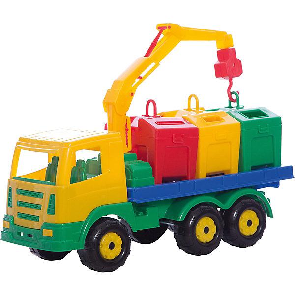 Автомобиль-контейнеровоз Престиж, ПолесьеМашинки<br>Характеристики товара:<br><br>• возраст: от 3 лет<br>• материал: пластик<br>• размер упаковки: 42х17х5 см.<br>• страна бренда: Беларусь.<br><br>Автомобиль-контейнеровоз привлечет внимание любого ребенка не только своим ярким, легко разбирающимся корпусом, но и подвижному подъемному устройству. <br><br>Автомобиль изготовлен из высококачественного пластика, что гарантирует его прочность и износоустойчивость.<br><br>Автомобиль-контейнеровоз Престиж, Полесье можно купить в нашем интернет-магазине.<br><br>Ширина мм: 420<br>Глубина мм: 170<br>Высота мм: 250<br>Вес г: 928<br>Возраст от месяцев: 36<br>Возраст до месяцев: 2147483647<br>Пол: Мужской<br>Возраст: Детский<br>SKU: 6760753