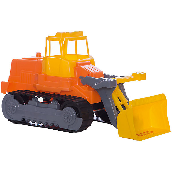 Гусеничный трактор-погрузчик, ПолесьеМашинки<br>Характеристики товара:<br><br>• возраст: от 3 лет<br>• материал: пластик<br>• размер упаковки: 43х22х23,5 см.<br>• страна бренда: Беларусь.<br><br>Благодаря этому гусеничному трактору-погрузчику с подвижным ковшом можно набирать в ковш небольшие предметы. Гусеничный механизм выглядит совсем как настоящий. <br><br>Дизайн игрушки соответствует реальной машине. Игрушка создается по лицензии итальянской фирмы Cavallino Giocattoli, Srl.<br><br>Внимание! Цвет в ассортименте.<br><br>Гусеничный трактор-погрузчик, Полесье можно купить в нашем интернет-магазине.<br>Ширина мм: 440; Глубина мм: 220; Высота мм: 230; Вес г: 633; Возраст от месяцев: 36; Возраст до месяцев: 2147483647; Пол: Мужской; Возраст: Детский; SKU: 6760754;
