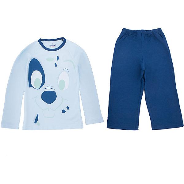 Пижама для мальчика BaykarПижамы и сорочки<br>Характеристики товара:<br><br>• цвет: синий<br>• состав ткани: 95% хлопок; 5% эластан<br>• комплектация: кофта, брюки<br>• пояс брюк: резинка<br>• сезон: круглый год<br>• страна бренда: Турция<br>• страна изготовитель: Турция<br><br>Правильная пижама для мальчика позволяет обеспечить комфортный сон. Пижама для мальчика Baykar украшена симпатичным принтом. <br><br>Этот комплект для сна из кофты и брюк сделан из мягкого дышащего материала. Продуманный крой обеспечивает комфортную посадку. <br><br>Пижаму для мальчика Baykar (Байкар) можно купить в нашем интернет-магазине.<br>Ширина мм: 281; Глубина мм: 70; Высота мм: 188; Вес г: 295; Цвет: синий; Возраст от месяцев: 18; Возраст до месяцев: 24; Пол: Мужской; Возраст: Детский; Размер: 80/92,92/98; SKU: 6764782;