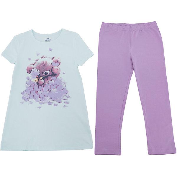 Пижама для девочки BaykarПижамы и сорочки<br>Характеристики товара:<br><br>• цвет: зеленый<br>• состав ткани:95% хлопок; 5% эластан<br>• пояс: резинка<br>• комплектация: туника, капри<br>• сезон: круглый год<br>• страна бренда: Турция<br>• страна изготовитель: Турция<br><br>Хорошая пижама для ребенка должна быть сделана из мягкого и дышащего материала. Комплект для сна для девочки от турецкого бренда Baykar позволит обеспечить детям удобство.<br><br>Пижама декорирована симпатичным принтом. Материал - с преобладанием хлопка в составе.<br><br>Пижаму для девочки Baykar (Байкар) можно купить в нашем интернет-магазине.<br><br>Ширина мм: 281<br>Глубина мм: 70<br>Высота мм: 188<br>Вес г: 295<br>Цвет: зеленый<br>Возраст от месяцев: 168<br>Возраст до месяцев: 180<br>Пол: Женский<br>Возраст: Детский<br>Размер: 164/170,152/158,158/164<br>SKU: 6764809