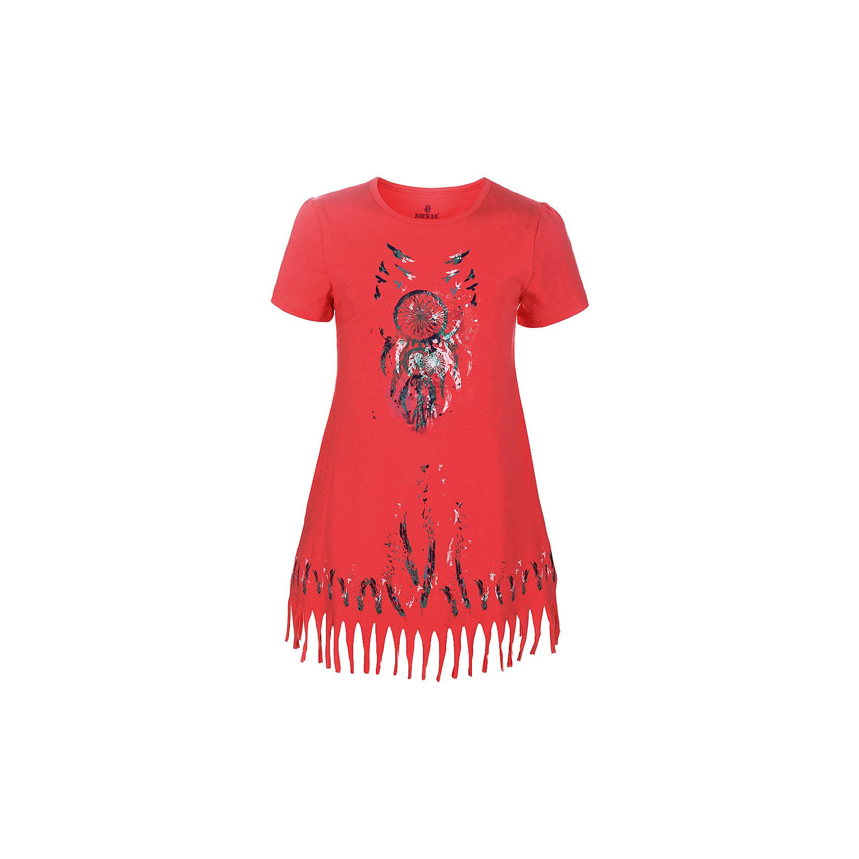 Сорочка для девочки BaykarПижамы и сорочки<br>Характеристики товара:<br><br>• цвет: розовый<br>• состав ткани: 95% хлопок; 5% эластан<br>• короткие рукава<br>• сезон: круглый год<br>• страна бренда: Турция<br>• страна изготовитель: Турция<br><br>Розовая сорочка для девочки позволяет обеспечить комфортный сон. Эта одежда для сна сделана из мягкого дышащего материала. <br><br>Продуманный крой обеспечивает комфортную посадку. Сорочка для девочки Baykar украшена симпатичным принтом.<br><br>Сорочку для девочки Baykar (Байкар) можно купить в нашем интернет-магазине.<br><br>Ширина мм: 281<br>Глубина мм: 70<br>Высота мм: 188<br>Вес г: 295<br>Цвет: розовый<br>Возраст от месяцев: 96<br>Возраст до месяцев: 108<br>Пол: Женский<br>Возраст: Детский<br>Размер: 128/134,134/140,140/146,122/128<br>SKU: 6764862