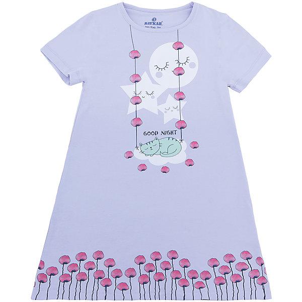 Сорочка для девочки BaykarПижамы и сорочки<br>Характеристики товара:<br><br>• цвет: розовый<br>• состав ткани: 95% хлопок; 5% эластан<br>• короткие рукава<br>• сезон: круглый год<br>• страна бренда: Турция<br>• страна изготовитель: Турция<br><br>Удобная сорочка для девочки Baykar украшена симпатичным принтом. Такая комфортная одежда для сна сделана из мягкого дышащего материала. <br><br>Продуманный крой обеспечивает комфортную посадку. Розовая сорочка для девочки позволяет обеспечить комфортный сон.<br><br>Сорочку для девочки Baykar (Байкар) можно купить в нашем интернет-магазине.<br><br>Ширина мм: 281<br>Глубина мм: 70<br>Высота мм: 188<br>Вес г: 295<br>Цвет: розовый<br>Возраст от месяцев: 48<br>Возраст до месяцев: 60<br>Пол: Женский<br>Возраст: Детский<br>Размер: 104/110,98/104,116/122,110/116<br>SKU: 6764871