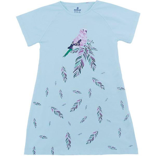 Сорочка для девочки BaykarПижамы и сорочки<br>Характеристики товара:<br><br>• цвет: зеленый<br>• состав ткани: 95% хлопок; 5% эластан<br>• короткие рукава<br>• сезон: круглый год<br>• страна бренда: Турция<br>• страна изготовитель: Турция<br><br>Удобная сорочка для девочки Baykar украшена симпатичным принтом. Такая комфортная одежда для сна сделана из мягкого дышащего материала. <br><br>Продуманный крой обеспечивает комфортную посадку. Зеленая сорочка для девочки позволяет обеспечить комфортный сон.<br><br>Сорочку для девочки Baykar (Байкар) можно купить в нашем интернет-магазине.<br><br>Ширина мм: 281<br>Глубина мм: 70<br>Высота мм: 188<br>Вес г: 295<br>Цвет: зеленый<br>Возраст от месяцев: 120<br>Возраст до месяцев: 132<br>Пол: Женский<br>Возраст: Детский<br>Размер: 140/146,134/140,128/134,122/128<br>SKU: 6764891