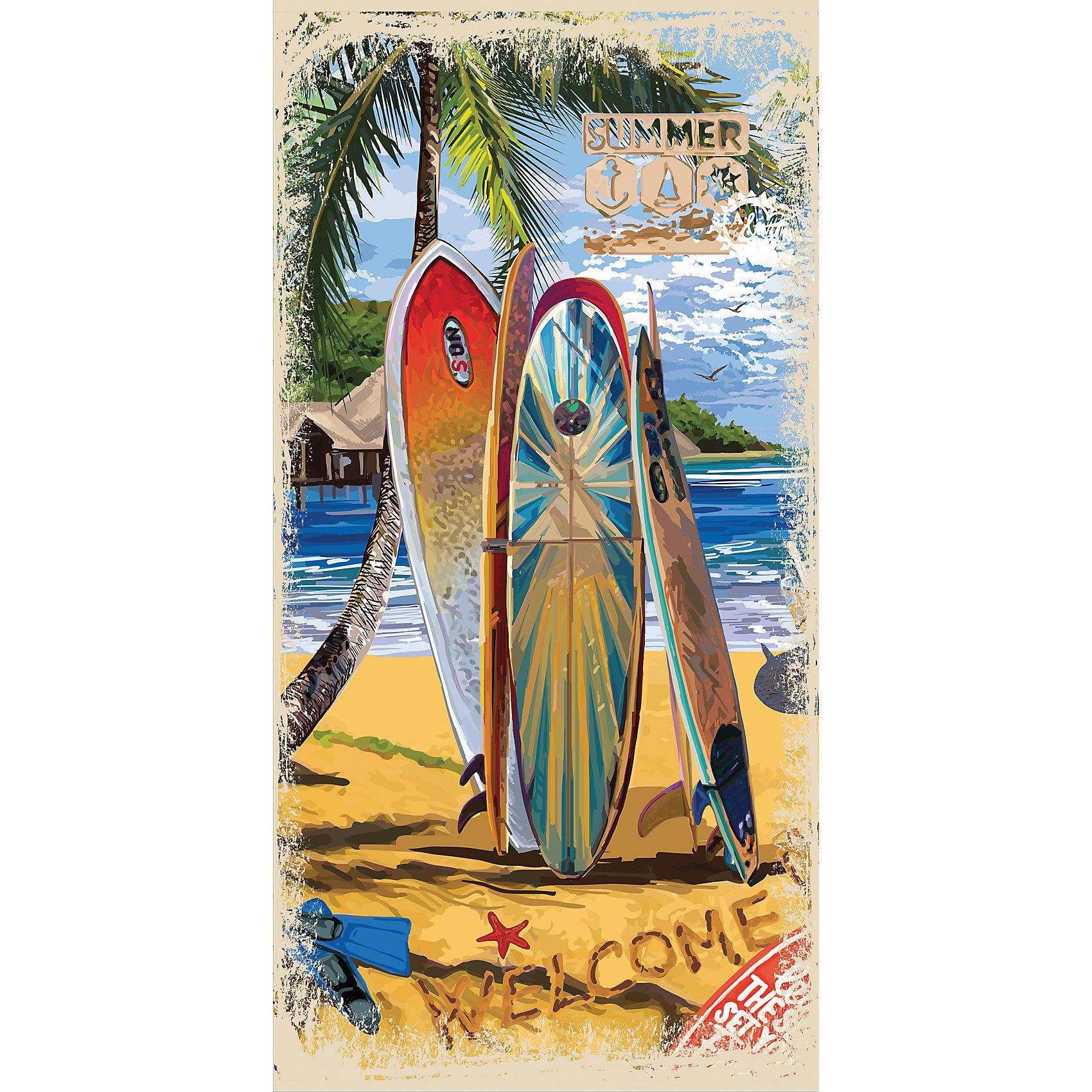 Полотенце 70*140 Summer Surf, Mona LizaПляжные полотенца<br>Характеристики:<br><br>• материал: махра<br>• состав: 70% хлопок, 30% велюр<br>• размер полотенца: 70х140 см<br>• размер упаковки: 37х1х25 см<br>• вес: 350 грамм<br><br>Пляжное полотенце Summer Surf обладает высокой гигроскопичностью и ярким дизайном. Изделие выполнено из мягкого материала, приятного телу. Оно быстро впитывает влагу, обеспечивая сухость и уют. Махровое полотенце не вызывает аллергии и легко поддается стирке, сохраняя яркость цвета. К тому же, махра практически не мнется и легко разглаживается при необходимости.<br><br>Полотенце 70*140 Summer Surf, Mona Liza (Мона Лиза) вы можете купить в нашем интернет-магазине.<br><br>Ширина мм: 250<br>Глубина мм: 10<br>Высота мм: 370<br>Вес г: 350<br>Возраст от месяцев: 84<br>Возраст до месяцев: 600<br>Пол: Унисекс<br>Возраст: Детский<br>SKU: 6765288