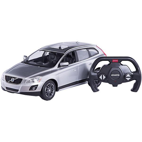 Радиоуправляемая машина Volvo XC60 1:14, Rastar, серебрянаяРадиоуправляемые машины<br>Характеристики товара:<br><br>• возраст: от 6 лет;<br>• материал: пластик;<br>• в комплекте: машина, пульт;<br>• тип батареек: 5 батареек АА (для машины), 1 батарейка 9V (для пульта);<br>• наличие батареек: в комплект не входят;<br>• масштаб машины: 1:14;<br>• длина машины: 30 см;<br>• дальность пульта: 45 метров;<br>• размер упаковки: 45,5х21,5х19,5 см;<br>• вес упаковки: 1,38 кг;<br>• страна производитель: Китай.<br><br>Радиоуправляемая машина Volvo XC60 Rastar серебряная представляет собой уменьшенную в масштабе 1:14 копию настоящего автомобиля. Управляется машина при помощи пульта управления. Она может ездить вперед, поворачивать, разворачиваться, сдавать назад. При помощи пульта можно отрегулировать скорость движения. При движении у машинки горят фары, при торможении загораются стоп-сигналы. Машинка способна достигать скорости до 12 км/час. Изготовлена из качественного прочного пластика.<br><br>Радиоуправляемую машину Volvo XC60 Rastar серебряную можно приобрести в нашем интернет-магазине.<br><br>Ширина мм: 455<br>Глубина мм: 215<br>Высота мм: 195<br>Вес г: 1380<br>Возраст от месяцев: 72<br>Возраст до месяцев: 2147483647<br>Пол: Мужской<br>Возраст: Детский<br>SKU: 6767707
