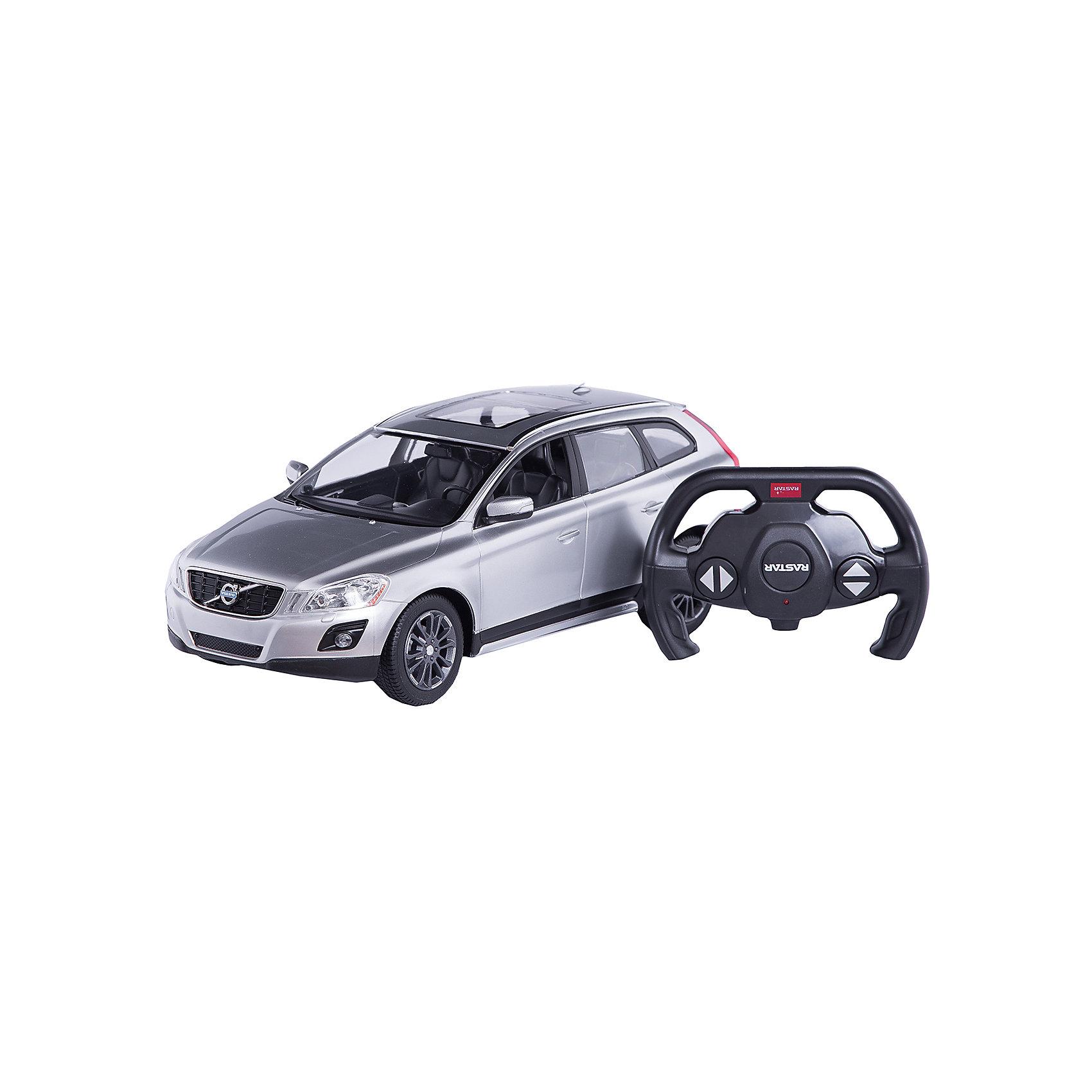 Радиоуправляемая машина Volvo XC60 1:14, Rastar, серебрянаяРадиоуправляемый транспорт<br><br><br>Ширина мм: 455<br>Глубина мм: 215<br>Высота мм: 195<br>Вес г: 1380<br>Возраст от месяцев: 72<br>Возраст до месяцев: 2147483647<br>Пол: Мужской<br>Возраст: Детский<br>SKU: 6767707