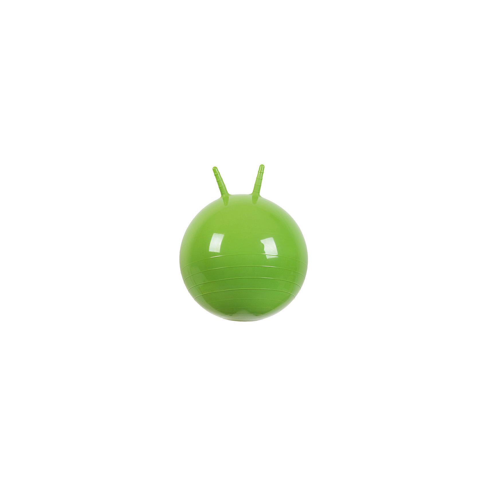Мяч Прыгун с рожками, 50 см, зеленый, МалышОКПрыгуны и джамперы<br><br><br>Ширина мм: 122<br>Глубина мм: 153<br>Высота мм: 254<br>Вес г: 700<br>Возраст от месяцев: 48<br>Возраст до месяцев: 2147483647<br>Пол: Унисекс<br>Возраст: Детский<br>SKU: 6767720