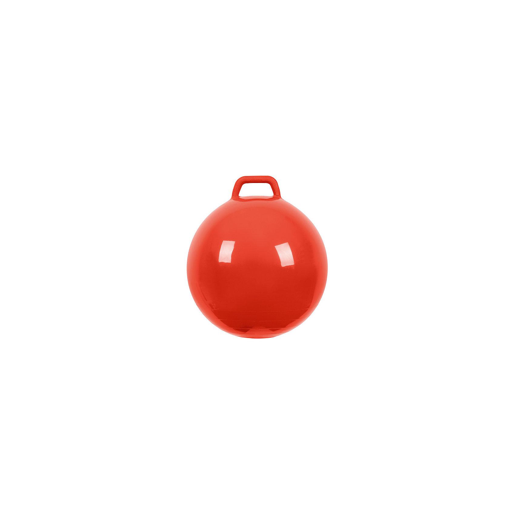 Мяч Прыгун с ручкой, 50 см, красный, МалышОКПрыгуны и джамперы<br><br><br>Ширина мм: 122<br>Глубина мм: 153<br>Высота мм: 254<br>Вес г: 700<br>Возраст от месяцев: 48<br>Возраст до месяцев: 2147483647<br>Пол: Унисекс<br>Возраст: Детский<br>SKU: 6767721