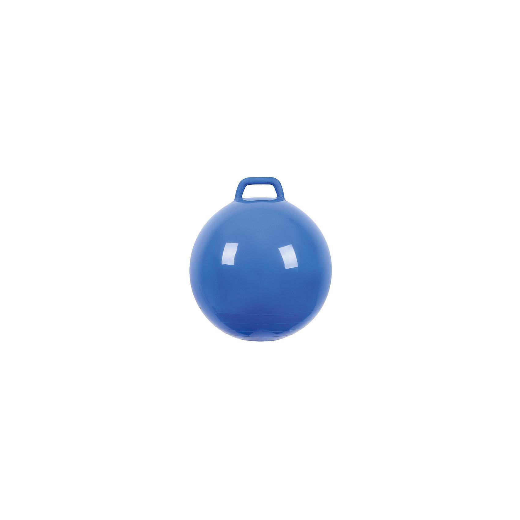 Мяч Прыгун с ручкой, 50 см, синий, МалышОКПрыгуны и джамперы<br><br><br>Ширина мм: 122<br>Глубина мм: 153<br>Высота мм: 254<br>Вес г: 700<br>Возраст от месяцев: 48<br>Возраст до месяцев: 2147483647<br>Пол: Унисекс<br>Возраст: Детский<br>SKU: 6767722