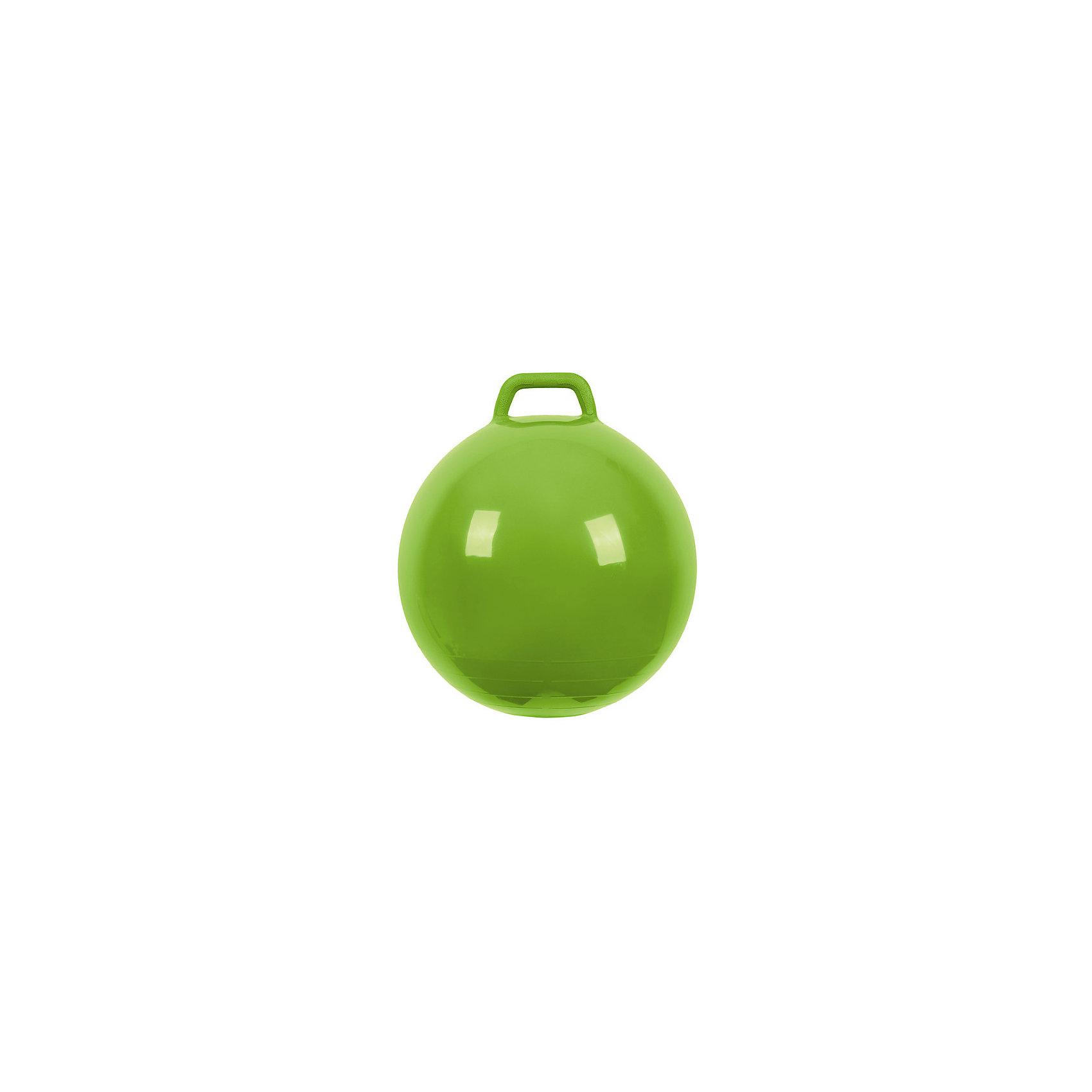 Мяч Прыгун с ручкой, 50 см, зеленый, МалышОКПрыгуны и джамперы<br><br><br>Ширина мм: 122<br>Глубина мм: 153<br>Высота мм: 254<br>Вес г: 700<br>Возраст от месяцев: 48<br>Возраст до месяцев: 2147483647<br>Пол: Унисекс<br>Возраст: Детский<br>SKU: 6767723