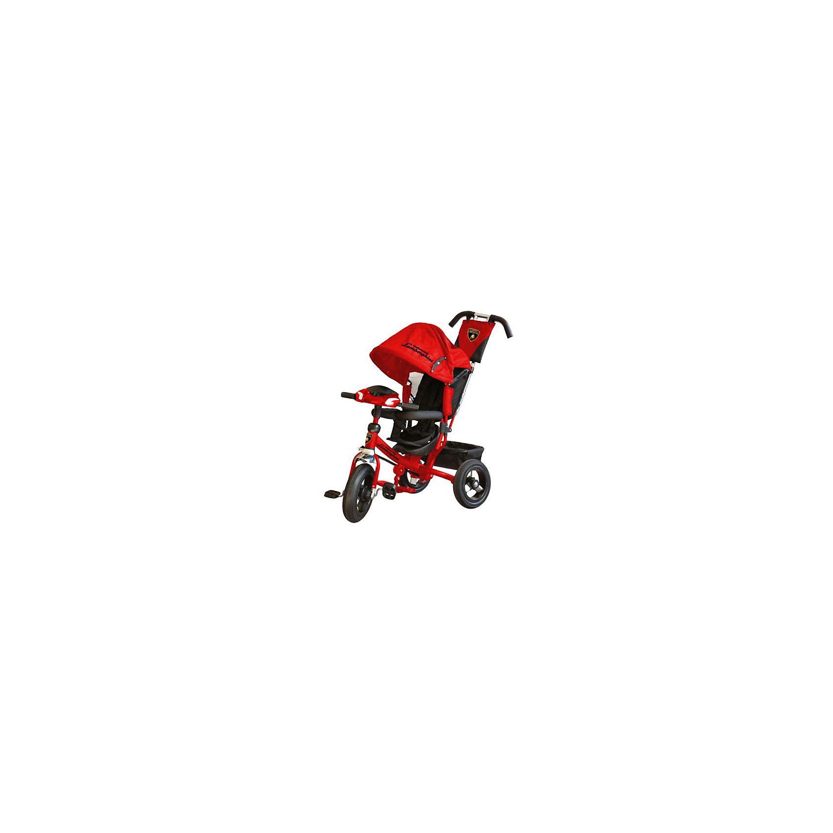 Трехколесный велосипед, красный, LamborghiniВелосипеды детские<br><br><br>Ширина мм: 660<br>Глубина мм: 380<br>Высота мм: 420<br>Вес г: 16000<br>Возраст от месяцев: 12<br>Возраст до месяцев: 48<br>Пол: Унисекс<br>Возраст: Детский<br>SKU: 6768037