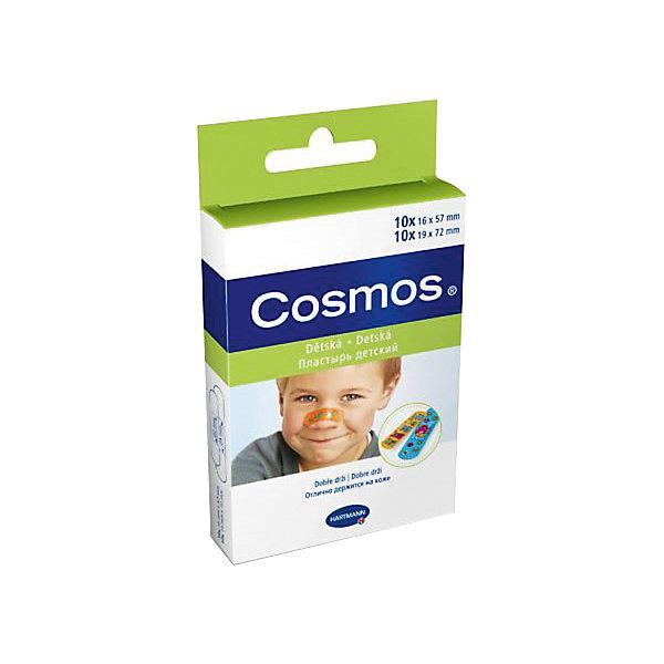 Пластырь пластинки для детей Cosmos kids , 20 шт.,,HartmannУход за ребенком<br>Cosmos kids - уникальный пластырь для детей с веселыми картинками.<br>Специально создан для ухода за небольшими ссадинами и ранками.<br>Все пластыри отлично пропускают воздух, поэтому кожа под ними не раздражается и дышит, благодаря этому они безболезненно удаляются.<br>Ширина мм: 20; Глубина мм: 75; Высота мм: 130; Вес г: 19; Возраст от месяцев: 18; Возраст до месяцев: 60; Пол: Унисекс; Возраст: Детский; SKU: 6768521;