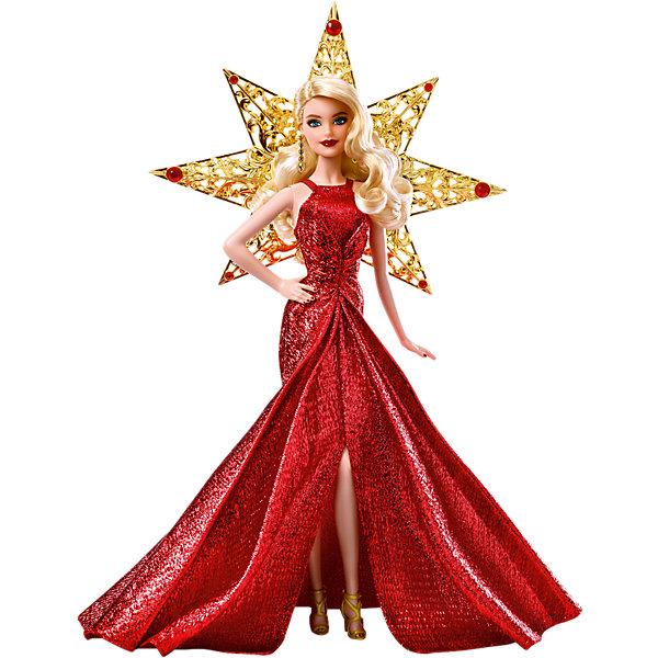 Кукла Barbie Праздничная в золотом платьеBarbie<br><br>Ширина мм: 339; Глубина мм: 271; Высота мм: 83; Вес г: 447; Возраст от месяцев: 72; Возраст до месяцев: 144; Пол: Женский; Возраст: Детский; SKU: 6771454;