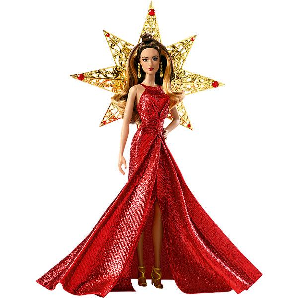 Кукла Barbie Праздничная серебряном платьеBarbie<br><br><br>Ширина мм: 340<br>Глубина мм: 269<br>Высота мм: 85<br>Вес г: 443<br>Возраст от месяцев: 72<br>Возраст до месяцев: 144<br>Пол: Женский<br>Возраст: Детский<br>SKU: 6771456