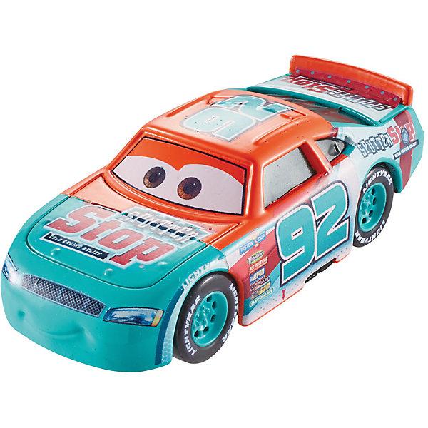 Базовая машинка Тачки 3Машинки<br>Характеристики товара:<br><br>• возраст: от 3 лет;<br>• материал: пластик, металл;<br>• масштаб: 1:55;<br>• размер упаковки: 16,5х14х7 см;<br>• вес упаковки: 85 гр.;<br>• страна производитель: Китай.<br><br>Базовая машинка Тачки 3 Mattel — один из персонажей известного мультфильма «Тачки 3». У машинки крутятся колеса, поэтому ее можно катать по полу. С игрушкой можно весело провести время, устроив захватывающие гонки. А можно также собрать целую коллекцию любимых героев и играть вместе с друзьями. Машинка выполнена из качественных безопасных материалов.<br><br>Базовую машинку Тачки 3 Mattel можно приобрести в нашем интернет-магазине.<br><br>Ширина мм: 140<br>Глубина мм: 40<br>Высота мм: 165<br>Вес г: 85<br>Возраст от месяцев: 36<br>Возраст до месяцев: 120<br>Пол: Мужской<br>Возраст: Детский<br>SKU: 6771794