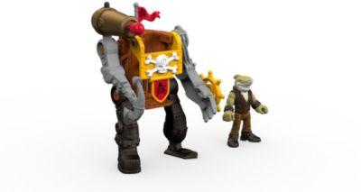 Mattel Базовая фигурка пирата Shark Mech Suit, Imaginext, Fisher Price