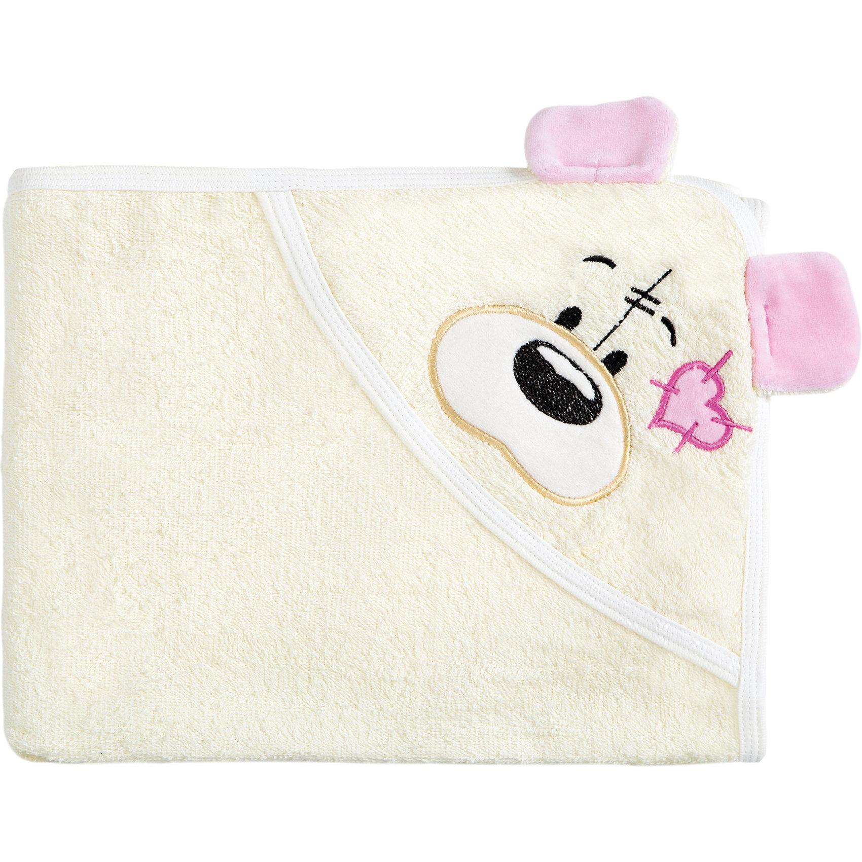 Полотенце с капюшоном Мишки Fun Dry, Twinklbaby, бежево-розовыйПолотенца, мочалки, халаты<br>Характеристики:<br><br>• приятное на ощупь<br>• удобный капюшон с вышивкой и аппликацией<br>• материал: махра<br>• состав: 100% хлопок<br>• размер: 100х80 см<br>• цвет: бежевый/розовый<br>• размер упаковки: 34х1х37 см<br>• вес: 300 грамм<br><br>Мишки Fun Dry - красивое и удобное полотенце для малышей. Оно быстро впитывает влагу и сохраняет тепло, чтобы ребенок чувствовал себя уютно после купания. Хлопок не вызывает разражения и аллергии на коже ребенка. <br><br>Кроме того, вы сможете использовать данное полотенце на пляже. Капюшон полотенца изготовлен в виде милого медвежонка, выполненного с помощью вышивки и аппликации.<br><br>Полотенце с капюшоном Мишки Fun Dry, Twinklbaby (Твинкл Бэби), бежево-розовый вы можете купить в нашем интернет-магазине.<br><br>Ширина мм: 370<br>Глубина мм: 340<br>Высота мм: 10<br>Вес г: 300<br>Возраст от месяцев: 1<br>Возраст до месяцев: 60<br>Пол: Унисекс<br>Возраст: Детский<br>SKU: 6772416