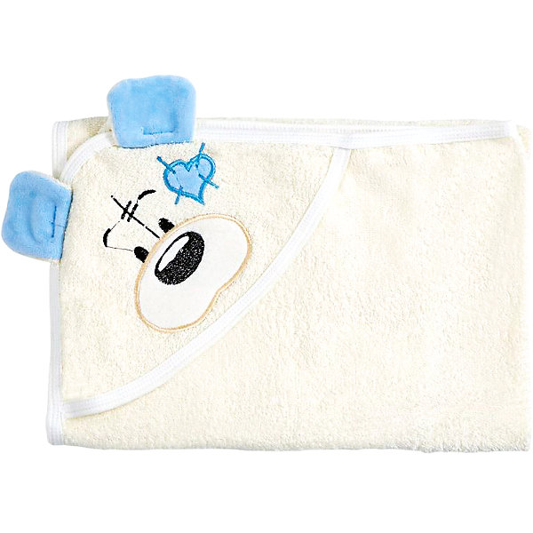 Полотенце с капюшоном Мишки Fun Dry, Twinklbaby, светло-бежевый с голубыми ушкамиПолотенца<br>Характеристики:<br><br>• приятное на ощупь<br>• удобный капюшон с вышивкой и аппликацией<br>• материал: махра<br>• состав: 100% хлопок<br>• размер: 100х80 см<br>• цвет: бежевый/голубой<br>• размер упаковки: 34х1х37 см<br>• вес: 300 грамм<br><br>Мишки Fun Dry - красивое и удобное полотенце для малышей. Оно быстро впитывает влагу и сохраняет тепло, чтобы ребенок чувствовал себя уютно после купания. Хлопок не вызывает разражения и аллергии на коже ребенка. <br><br>Кроме того, вы сможете использовать данное полотенце на пляже. Капюшон полотенца изготовлен в виде милого медвежонка, выполненного с помощью вышивки и аппликации.<br><br>Полотенце с капюшоном Мишки Fun Dry, Twinklbaby (Твинкл Бэби), бежево-голубой вы можете купить в нашем интернет-магазине.<br>Ширина мм: 370; Глубина мм: 340; Высота мм: 10; Вес г: 300; Возраст от месяцев: 1; Возраст до месяцев: 60; Пол: Унисекс; Возраст: Детский; SKU: 6772417;