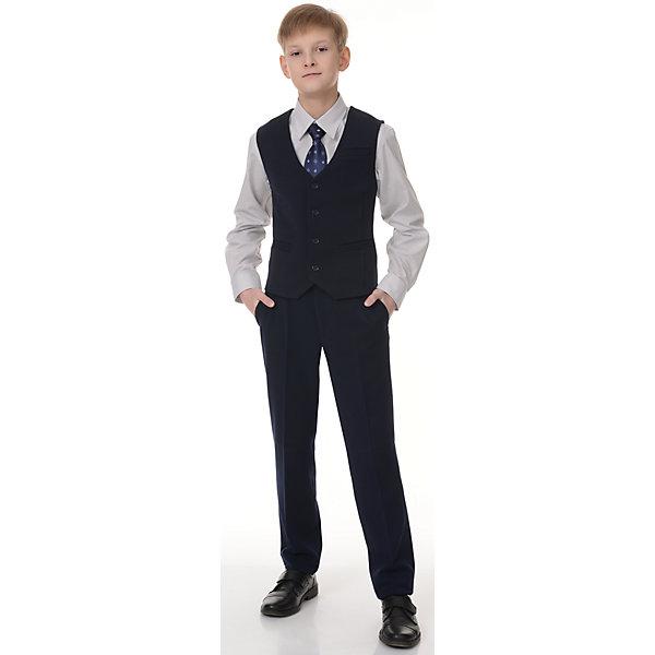 Купить Жилет Рио для мальчика Skylake, Россия, синий, 128, 158, 152, 146, 140, 134, Мужской