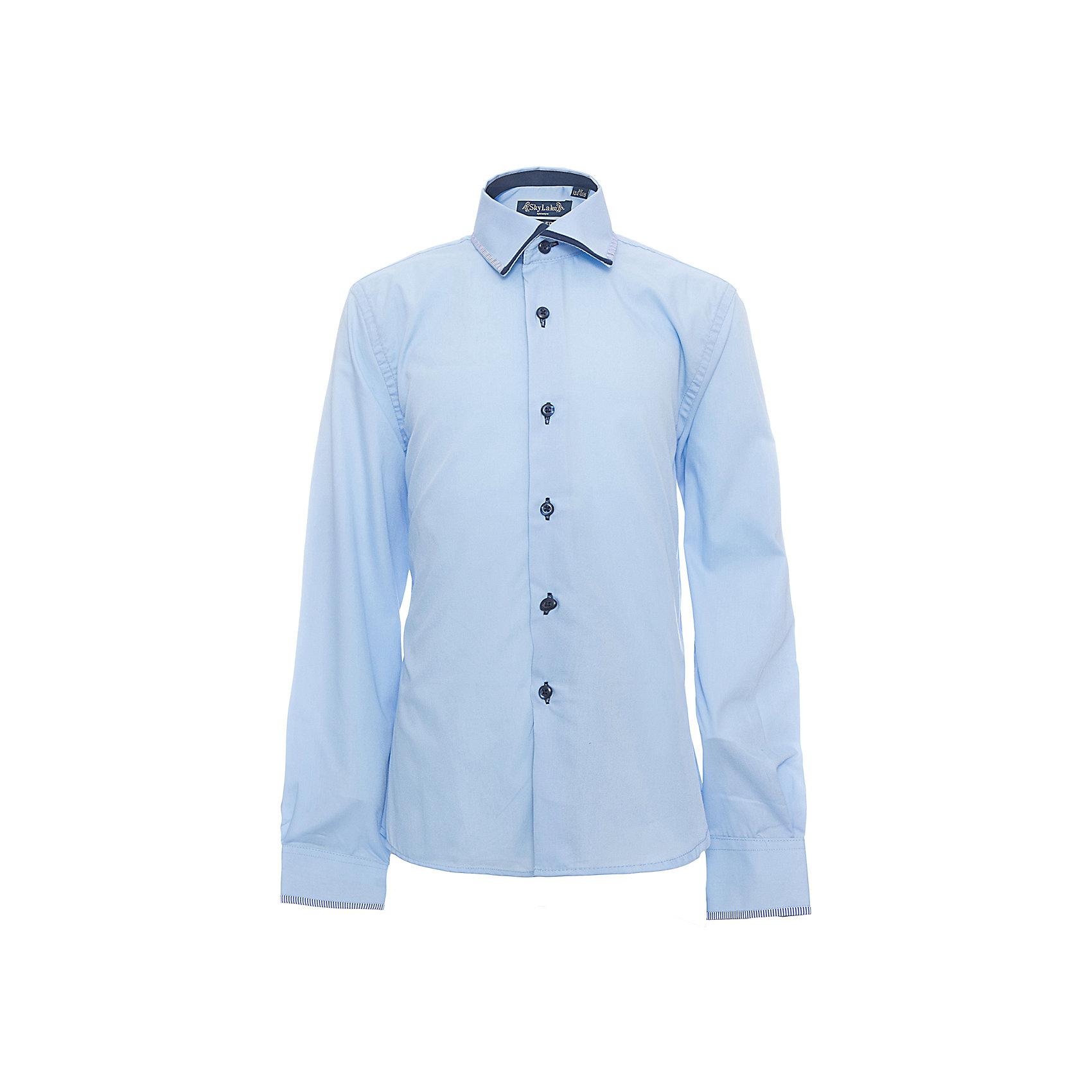 Рубашка PREMIUM SLIM FIT для мальчика SkylakeБлузки и рубашки<br>Сорочка детская для мальчика<br>Состав:<br>80% хлопок 20% п/э<br><br>Ширина мм: 174<br>Глубина мм: 10<br>Высота мм: 169<br>Вес г: 157<br>Цвет: голубой<br>Возраст от месяцев: 144<br>Возраст до месяцев: 156<br>Пол: Мужской<br>Возраст: Детский<br>Размер: 158,122,128,134,140,146,152<br>SKU: 6772719