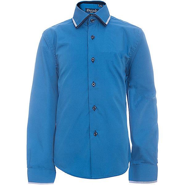 Рубашка PREMIUM SLIM FIT для мальчика SkylakeБлузки и рубашки<br>Сорочка детская для мальчика<br>Состав:<br>80% хлопок 20% п/э<br><br>Ширина мм: 174<br>Глубина мм: 10<br>Высота мм: 169<br>Вес г: 157<br>Цвет: синий<br>Возраст от месяцев: 72<br>Возраст до месяцев: 84<br>Пол: Мужской<br>Возраст: Детский<br>Размер: 122,158,152,146,140,134,128<br>SKU: 6772727