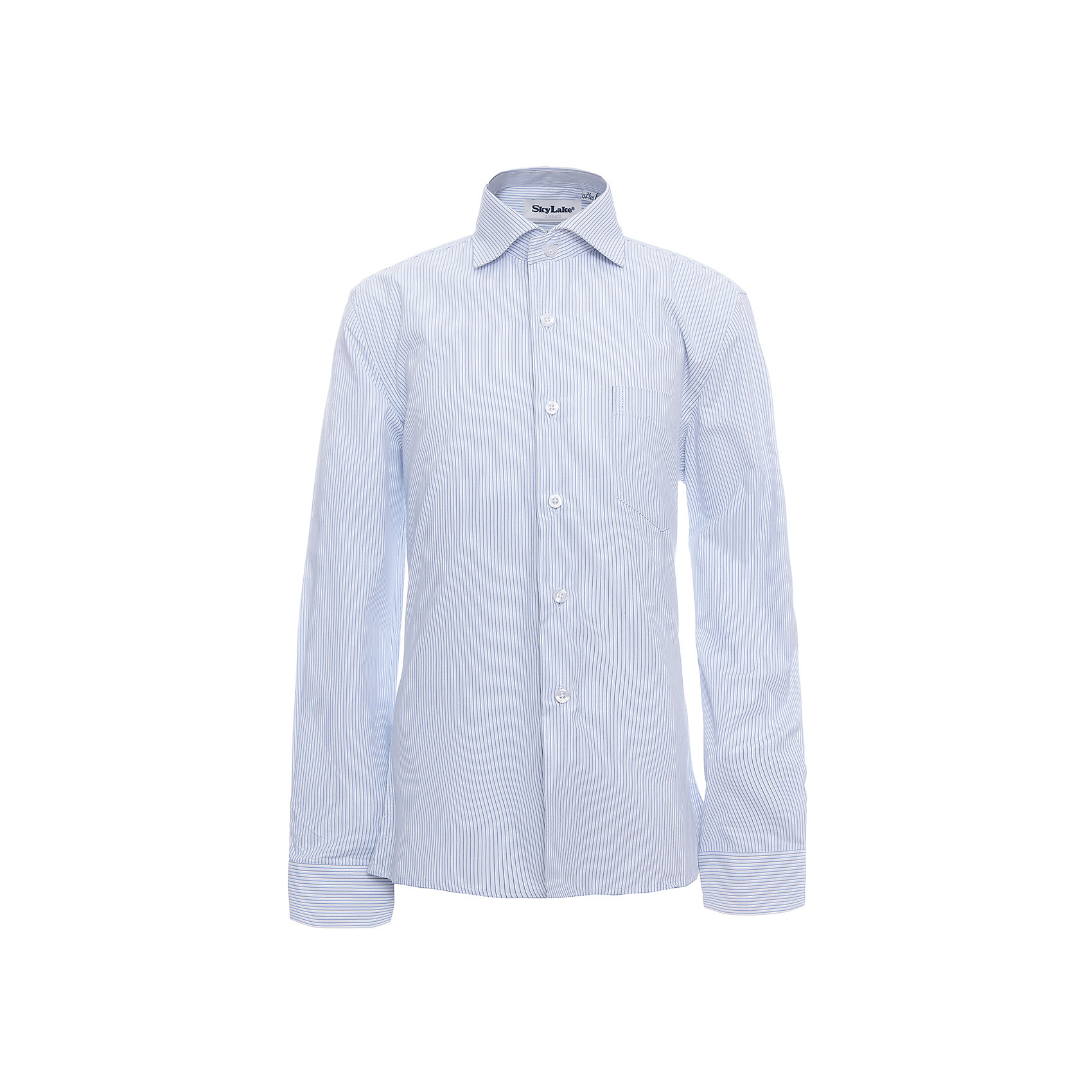 Рубашка CLASSIC SLIM FIT для мальчика SkylakeБлузки и рубашки<br>Сорочка детская для мальчика<br>Состав:<br>80% хлопок, 20% п/э<br><br>Ширина мм: 174<br>Глубина мм: 10<br>Высота мм: 169<br>Вес г: 157<br>Цвет: синий<br>Возраст от месяцев: 144<br>Возраст до месяцев: 156<br>Пол: Мужской<br>Возраст: Детский<br>Размер: 158,122,128,134,140,146,152<br>SKU: 6772761