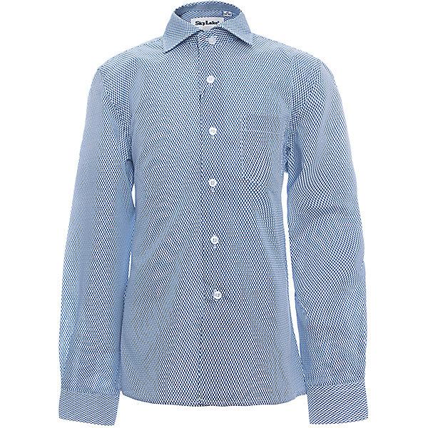 Рубашка CLASSIC SLIM FIT для мальчика SkylakeБлузки и рубашки<br>Сорочка детская для мальчика<br>Состав:<br>80% хлопок, 20% п/э<br><br>Ширина мм: 174<br>Глубина мм: 10<br>Высота мм: 169<br>Вес г: 157<br>Цвет: голубой<br>Возраст от месяцев: 72<br>Возраст до месяцев: 84<br>Пол: Мужской<br>Возраст: Детский<br>Размер: 122,158,152,146,140,134,128<br>SKU: 6772769