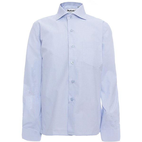 Рубашка CLASSIC SLIM FIT для мальчика SkylakeБлузки и рубашки<br>Сорочка детская для мальчика<br>Состав:<br>80% хлопок, 20% п/э<br><br>Ширина мм: 174<br>Глубина мм: 10<br>Высота мм: 169<br>Вес г: 157<br>Цвет: голубой<br>Возраст от месяцев: 144<br>Возраст до месяцев: 156<br>Пол: Мужской<br>Возраст: Детский<br>Размер: 146,152,158,122,128,134,140<br>SKU: 6772777