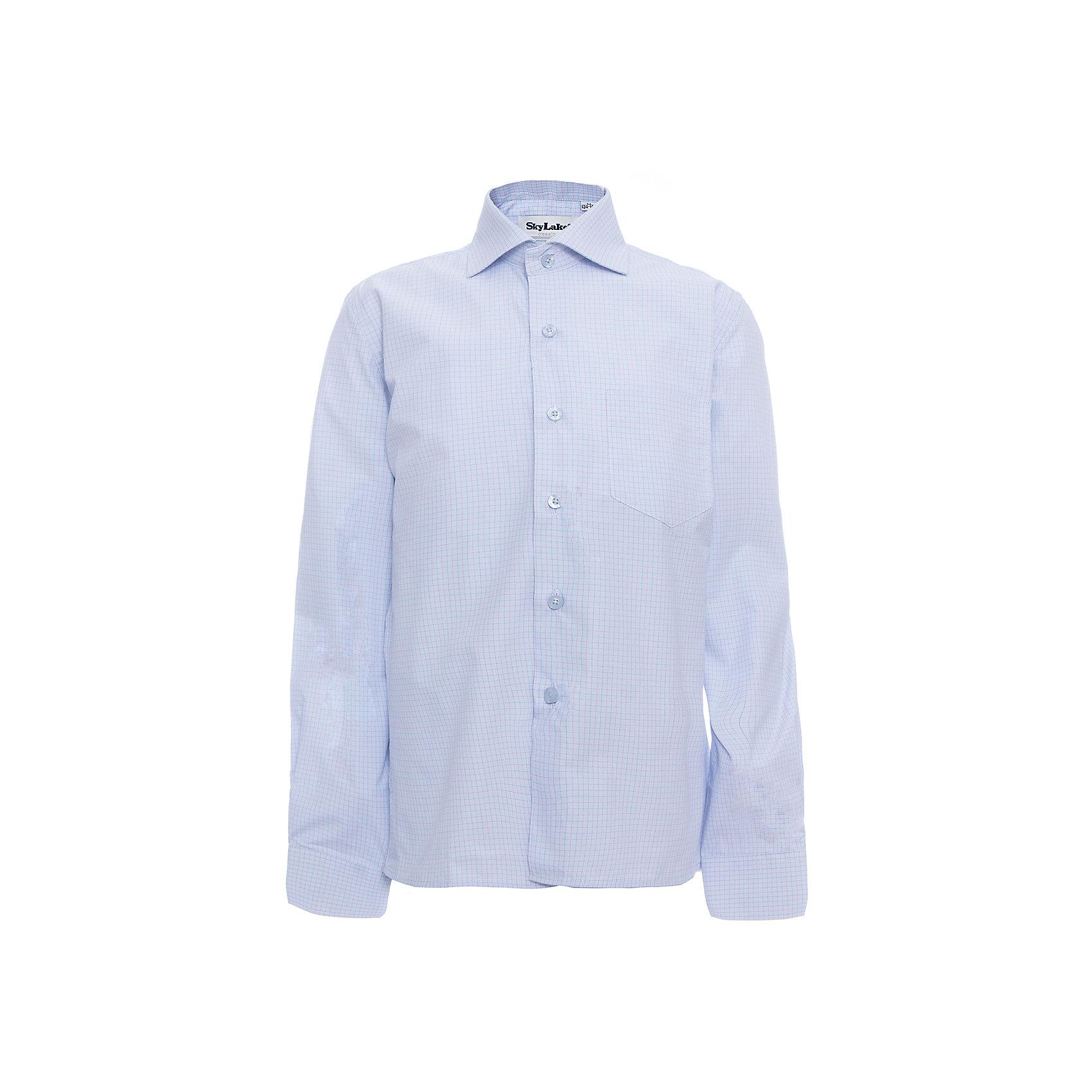 Рубашка CLASSIC SLIM FIT для мальчика SkylakeБлузки и рубашки<br>Сорочка детская для мальчика<br>Состав:<br>80% хлопок, 20% п/э<br><br>Ширина мм: 174<br>Глубина мм: 10<br>Высота мм: 169<br>Вес г: 157<br>Цвет: голубой<br>Возраст от месяцев: 72<br>Возраст до месяцев: 84<br>Пол: Мужской<br>Возраст: Детский<br>Размер: 122,158,152,146,140,134,128<br>SKU: 6772777