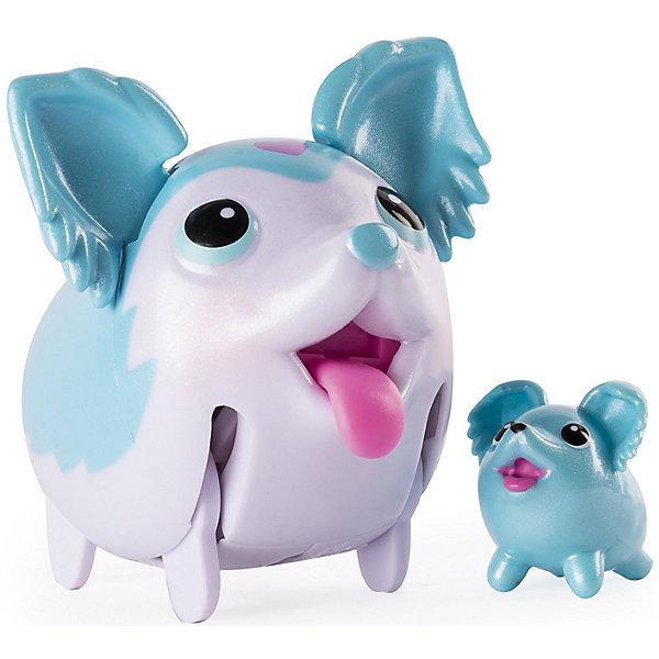 Коллекционная фигурка Той-спаниель, небесно-голубой, Chubby PuppiesМир животных<br>Характеристики товара:<br><br>• возраст: от 4 лет;<br>• материал: пластик;<br>• в комплекте: 2 фигурки;<br>• тип батареек: 1 батарейка ААА;<br>• наличие батареек: в комплекте;<br>• размер упаковки: 15х11х8 см;<br>• вес упаковки: 200 гр.;<br>• страна производитель: Китай.<br><br>Коллекционная фигурка «Той-спаниель» Chubby Puppies — забавный питомец, который умеет ходить вразвалку и прыгать. Во время ходьбы он двигает ножками, шевелит ушками и показывает язычок. В комплекте вторая фигурка, которая представляет собой мини-копию собачки. Игрушка выполнена из качественного прочного пластика.<br><br>Коллекционную фигурку «Той-спаниель» Chubby Puppies<br>Ширина мм: 80; Глубина мм: 110; Высота мм: 150; Вес г: 195; Возраст от месяцев: 36; Возраст до месяцев: 2147483647; Пол: Унисекс; Возраст: Детский; SKU: 6835379;