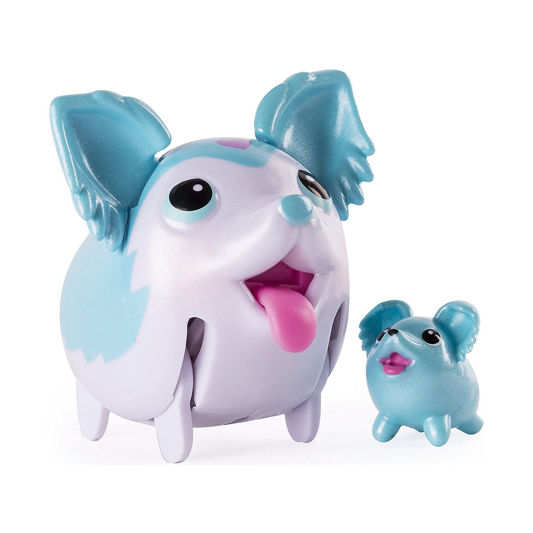Коллекционная фигурка Той-спаниель, небесно-голубой, Chubby PuppiesКоллекционные и игровые фигурки<br>Характеристики товара:<br><br>• возраст: от 4 лет;<br>• материал: пластик;<br>• в комплекте: 2 фигурки;<br>• тип батареек: 1 батарейка ААА;<br>• наличие батареек: в комплекте;<br>• размер упаковки: 15х11х8 см;<br>• вес упаковки: 200 гр.;<br>• страна производитель: Китай.<br><br>Коллекционная фигурка «Той-спаниель» Chubby Puppies — забавный питомец, который умеет ходить вразвалку и прыгать. Во время ходьбы он двигает ножками, шевелит ушками и показывает язычок. В комплекте вторая фигурка, которая представляет собой мини-копию собачки. Игрушка выполнена из качественного прочного пластика.<br><br>Коллекционную фигурку «Той-спаниель» Chubby Puppies<br><br>Ширина мм: 80<br>Глубина мм: 110<br>Высота мм: 150<br>Вес г: 195<br>Возраст от месяцев: 36<br>Возраст до месяцев: 2147483647<br>Пол: Унисекс<br>Возраст: Детский<br>SKU: 6835379