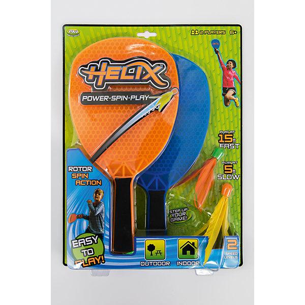 Набор для игры в бадминтон Helix Fun, YuluБадминтон и теннис<br>Характеристики товара:<br><br>• возраст: от 6 лет;<br>• материал: пластик;<br>• в комплекте: 2 ракетки, 2 волана;<br>• размер упаковки: 38,9х28,9х4,4 см;<br>• вес упаковки: 500 гр.;<br>• страна производитель: Китай.<br><br>Набор для игры в бадминтон Helix Fun Yulu разнообразит игры на свежем воздухе. В него входят ракетки и 2 волана. Ракетки выполнены из прочного материала и оснащены удобной для детских рук ручкой. Воланы имеют необычную форму языков пламени, выполнены в яркой расцветке, поэтому не затеряются среди травы.<br><br>Набор для игры в бадминтон Helix Fun Yulu можно приобрести в нашем интернет-магазине.<br><br>Ширина мм: 389<br>Глубина мм: 289<br>Высота мм: 44<br>Вес г: 500<br>Возраст от месяцев: 72<br>Возраст до месяцев: 2147483647<br>Пол: Унисекс<br>Возраст: Детский<br>SKU: 6835701