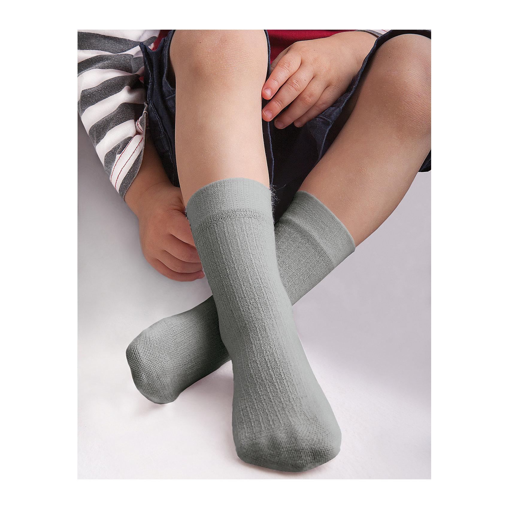 Носки для девочки KnittexНоски<br>Носки для девочки Knittex<br>Вискозные однотонные носки с продольным рельефным рисунком в виде мелкого рубчика. Плотные, мягкие и приятные на ощупь. Широкая резинка, не сдавливающая ногу. <br>Состав:<br>вискоза 65%,                                  полиамид 31%, эластан 4%<br><br>Ширина мм: 87<br>Глубина мм: 10<br>Высота мм: 105<br>Вес г: 115<br>Цвет: серый<br>Возраст от месяцев: 0<br>Возраст до месяцев: 18<br>Пол: Женский<br>Возраст: Детский<br>Размер: 18-20,15-17<br>SKU: 6837360