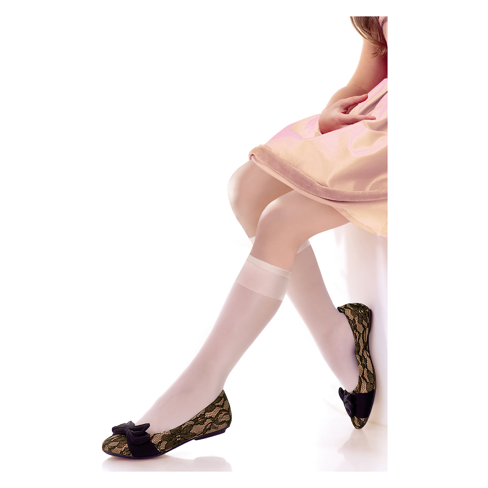 Гольфы для девочки KnittexКолготки<br>Гольфы для девочки Knittex<br>Классические однотонные  гольфы плотностью 15 den. Широкая комфортная резинка, не сдавливающая ногу.  Укрепленный мысок.  Длина изделия - до колена. 2 пары в упаковке<br>Состав:<br>полиамид 85%, эластан 15%<br><br>Ширина мм: 87<br>Глубина мм: 10<br>Высота мм: 105<br>Вес г: 115<br>Цвет: белый<br>Возраст от месяцев: 84<br>Возраст до месяцев: 96<br>Пол: Женский<br>Возраст: Детский<br>Размер: 18-22<br>SKU: 6837372