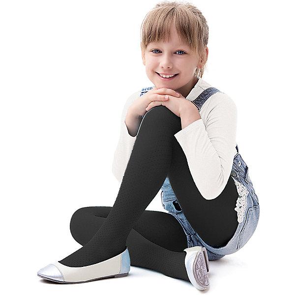 Колготки для девочки KnittexКолготки<br>Колготки для девочки Knittex<br>Полупрозрачные однотонные колготки из микрофибры плотностью 40 den с перфорированным рисунком в виде точек по всей длине изделия. Плоские швы. Высокая талия. Широкая мягкая резинка. Укрепленный мысок. <br>Состав:<br>полиамид 94%, эластан 6%<br>Ширина мм: 123; Глубина мм: 10; Высота мм: 149; Вес г: 209; Цвет: черный; Возраст от месяцев: 132; Возраст до месяцев: 144; Пол: Женский; Возраст: Детский; Размер: 146/152,122/128,128/134,134/140,140/146; SKU: 6837404;