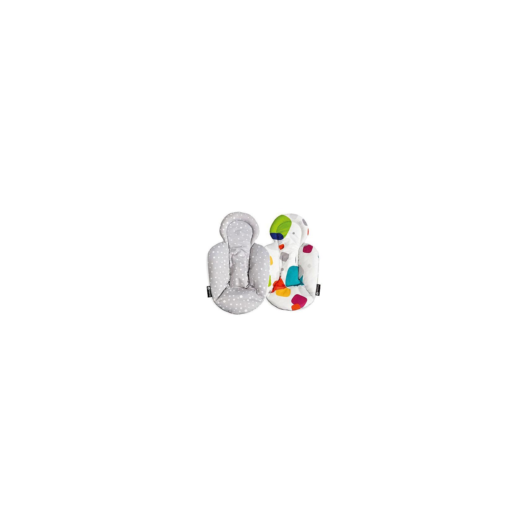 Вкладыш для шезлонга Мамару, 4momsШезлонги<br>Характеристики товара:<br><br>• возраст с рождения;<br>• материал: текстиль;<br>• размер упаковки 20х17х8 см;<br>• вес упаковки 500 гр.;<br>• страна производитель: США<br><br>Вкладыш для шезлонга 4moms MamaRoo — универсальный дополнительный вкладыш для кресло-качалки MamaRoo. Он обеспечит малышу комфортный и уютный сон или отдых. Вкладыш разработан с учетом анатомических особенностей новорожденного. Вкладыш сделан из качественных безопасных для малыша материалов, не вызывающих раздражения и аллергических реакций. На кресло крепится при помощи ремней безопасности, для которых предусмотрены прорези.<br><br>Вкладыш для шезлонга 4moms MamaRoo можно приобрести в нашем интернет-магазине.<br><br>Ширина мм: 200<br>Глубина мм: 120<br>Высота мм: 10<br>Вес г: 1400<br>Возраст от месяцев: 0<br>Возраст до месяцев: 48<br>Пол: Унисекс<br>Возраст: Детский<br>SKU: 6838660