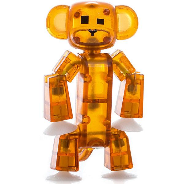 Фигурка питомца Мартышка, коричневая, StikbotФигурки из мультфильмов<br>Характеристики товара:<br><br>• возраст: от 4 лет;<br>• материал: пластик;<br>• в комплекте: 1 фигурка;<br>• размер упаковки: 11х12х3,5 см;<br>• вес упаковки: 100 гр.;<br>• страна производитель: Китай.<br><br>Фигурка питомца «Мартышка» коричневая Stikbot — необычная фигурка с подвижными деталями, с помощью которой можно снимать забавные и смешные видеоролики. На лапках питомца имеются присоски, которые крепятся к поверхности.<br><br>Для создания видеороликов необходимо скачать бесплатное мобильное приложение. А затем при помощи обычного телефона можно записывать небольшие фрагменты, придавая фигурке различные позы. Все фрагменты после записи монтируются в один видеоролик, на который накладывается музыка, фон, голосовые заметки.<br><br>Игрушка позволит детям устроить свою собственную студию и проявить творческие способности и воображение. <br><br>Фигурку питомца «Мартышка» коричневая Stikbot можно приобрести в нашем интернет-магазине.<br>Ширина мм: 35; Глубина мм: 120; Высота мм: 110; Вес г: 66; Возраст от месяцев: 48; Возраст до месяцев: 2147483647; Пол: Унисекс; Возраст: Детский; SKU: 6838677;