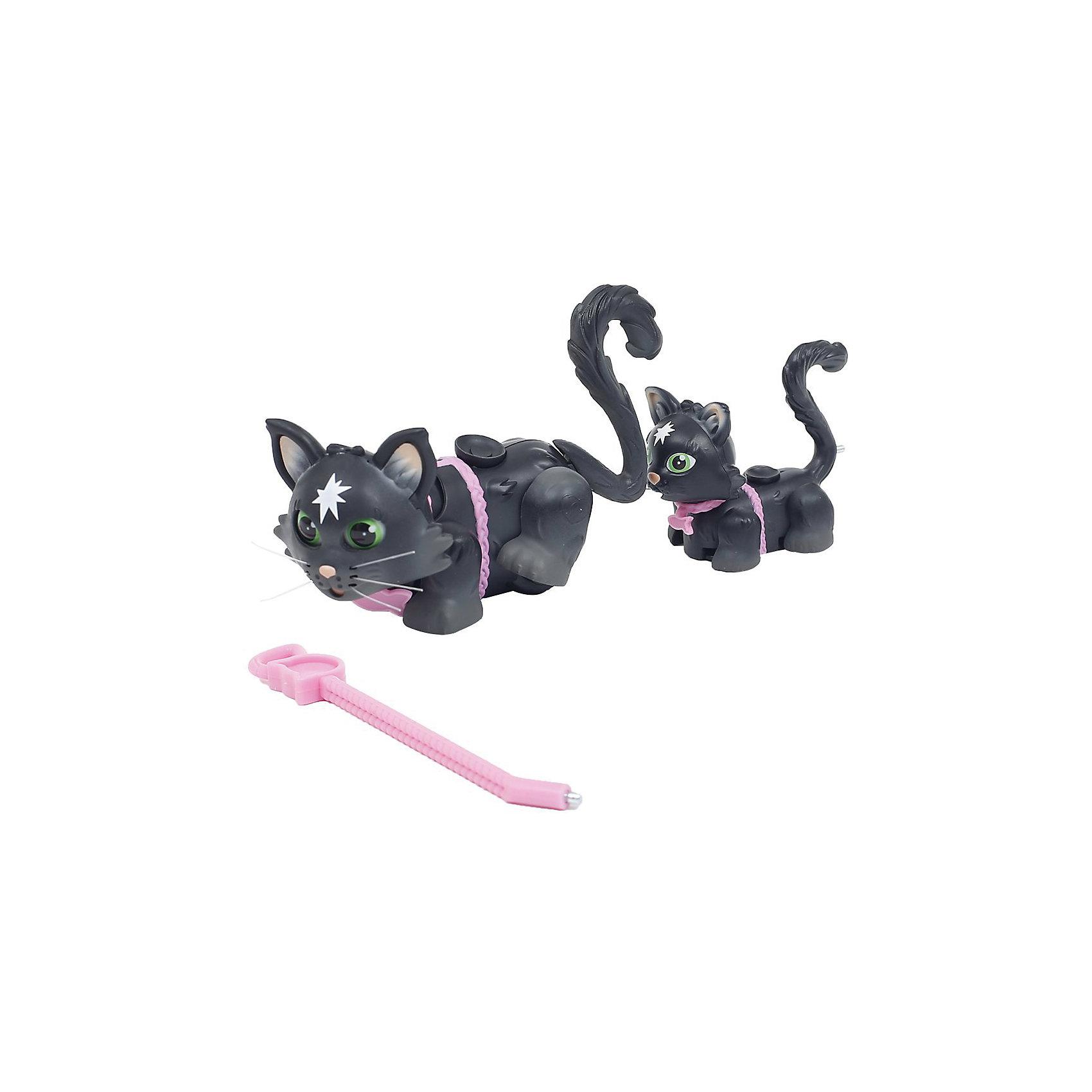 Игровой набор Семья черных кошек, Pet Club ParadeЛюбимые герои<br><br><br>Ширина мм: 260<br>Глубина мм: 210<br>Высота мм: 60<br>Вес г: 191<br>Возраст от месяцев: 108<br>Возраст до месяцев: 2147483647<br>Пол: Женский<br>Возраст: Детский<br>SKU: 6838688
