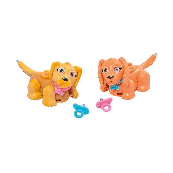 Игровой набор Щенки лабрадор и кокер-спаниель, Pet Club ParadeИгровые фигурки животных<br>Характеристики товара:<br><br>• возраст: от 3 лет;<br>• материал: пластик;<br>• в комплекте: 2 фигурки, 2 пустышки;<br>• размер упаковки: 22х21х6 см;<br>• вес упаковки: 110 гр.;<br>• страна производитель: Китай.<br><br>Игровой набор «Щенки лабрадор и кокер-спаниель» Pet Club Parade включает в себя двух очаровательных питомцев. Благодаря колесикам они забавно перемещаются по поверхности, передвигая лапками. <br><br>На спинке расположен джойстик, который управляет головой, хвостиком и глазками. Зверьки умеют хлопать глазками, вилять хвостиком и качать головой. В носике спрятан магнит, который позволяет питомцу взаимодействовать с предметами. <br><br>Игровой набор «Щенки лабрадор и кокер-спаниель» Pet Club Parade можно приобрести в нашем интернет-магазине.<br>Ширина мм: 220; Глубина мм: 220; Высота мм: 60; Вес г: 122; Возраст от месяцев: 120; Возраст до месяцев: 2147483647; Пол: Женский; Возраст: Детский; SKU: 6838693;