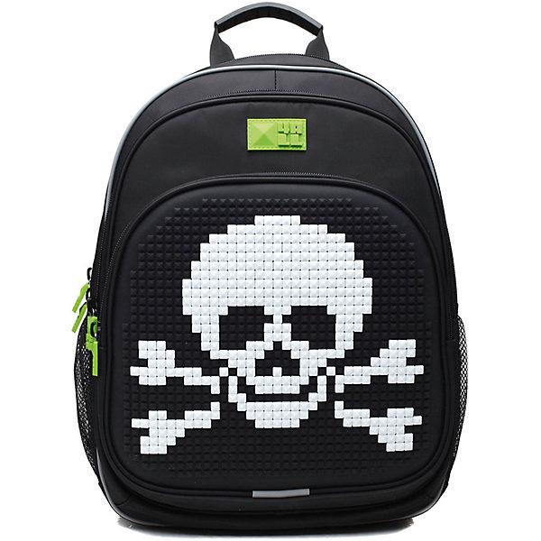Рюкзак 4ALL, линия Kids, черныйРюкзаки<br>Ортопедический рюкзак 4ALL для детей от 7 до 12 лет. Размер  39*27*15см. Вес 950 г. Объем 19 литров. Тип застежки - молния. 3 отделения. 2 боковых кармана-сеточка. Содержит светоотражающие элементы.Вмещает А4. Выполнен из высококачественных материалов: PVC, нейлон и гипоаллергенный силикон (на передней поверхности). Ортопедическая спинка и ERGO system (сводобная циркуляция воздуха). Дно мягкое. Регулируемые лямки. Передняя панель предназначена для декорирования. В комплекте каждого рюкзака приложена картинка и набор Битов STANDART (около 300 элементов из силикона различных цветов)<br><br>Ширина мм: 390<br>Глубина мм: 270<br>Высота мм: 150<br>Вес г: 950<br>Возраст от месяцев: 72<br>Возраст до месяцев: 144<br>Пол: Мужской<br>Возраст: Детский<br>SKU: 6840944