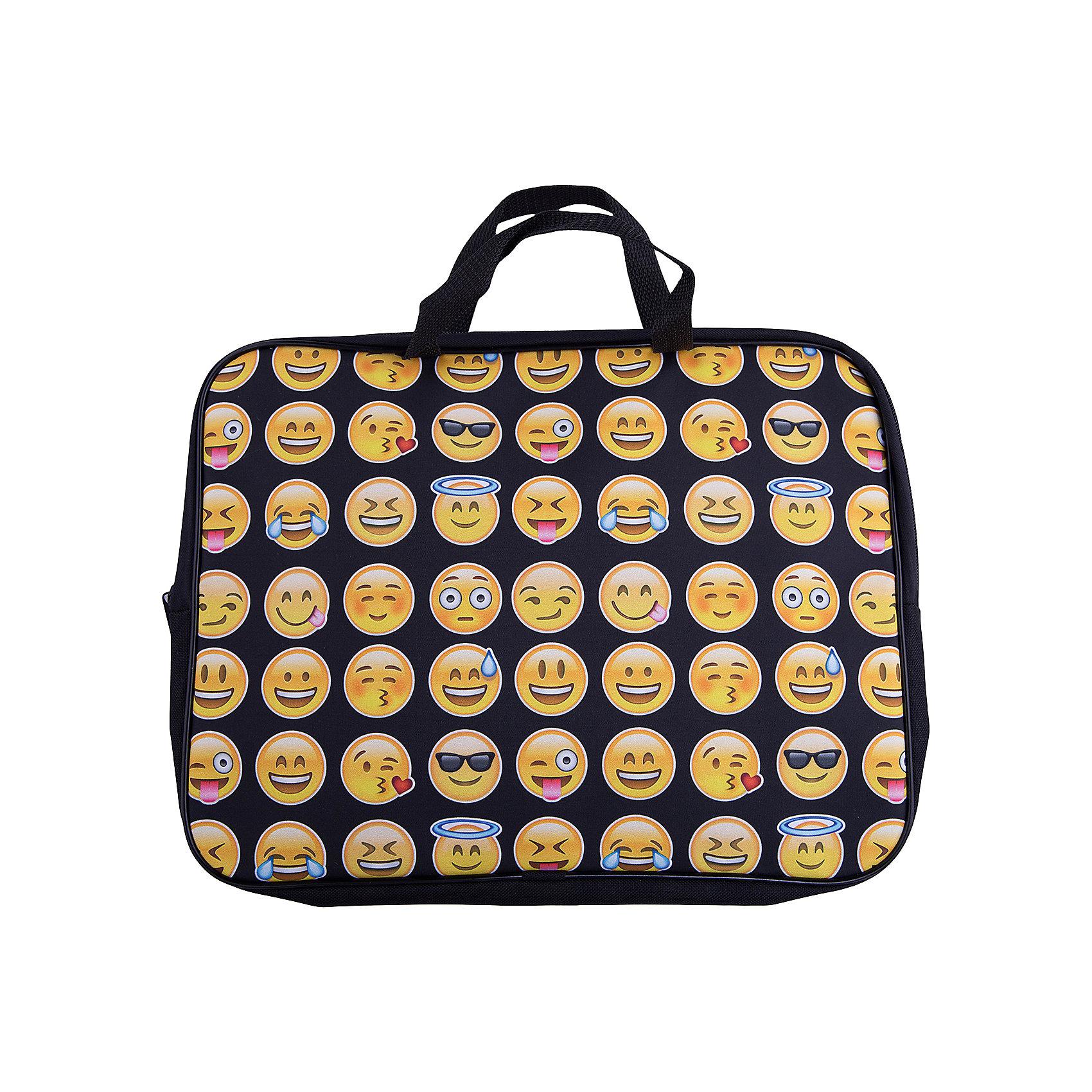 Centrum Папка -сумка Смайлы, текстиль, c ручками, формат А4Папки для дополнительных занятий<br>Папка-сумка Смайлы, текстильная, c ручками, формат А4<br><br>Ширина мм: 20<br>Глубина мм: 360<br>Высота мм: 290<br>Вес г: 160<br>Возраст от месяцев: 36<br>Возраст до месяцев: 2147483647<br>Пол: Унисекс<br>Возраст: Детский<br>SKU: 6842122