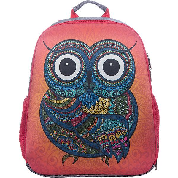 Рюкзак школьный каркасный Сова
