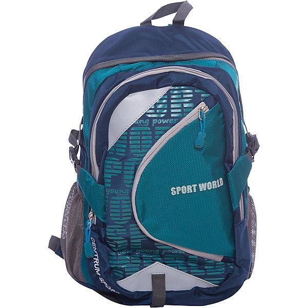 Рюкзак школьный спортивный молодежныйРюкзаки для подростков<br>Характеристики:<br><br>• размер: 48.5х15х31 см.;<br>• состав: полиэстер;<br>• вес: 640 г.;<br>• для детей в возрасте: от 10 лет;<br>• страна производитель: Китай.<br><br>Этот вместительный рюкзак, выполненный в стильном дизайне от бренда CENTRIUM (Центриум) отлично подойдёт для школы и внеклассных занятий. Рюкзак оснащён обширным отделением на молнии, в которое помещаются книги и тетради формата А4. Спереди расположен большой карман для тетрадей и канцелярских принадлежностей. По бокам расположены сетчатые карманы для мелочей или бутылочки с водой.<br><br>Уплотнённая спинка пропускает воздух и приятна в использовании. Широкие и регулируемые лямки способствуют правильному распределению нагрузки на спину. С помощью качественно прошитой ручки рюкзак можно носить в руке или вешать на крючок. Благодаря своему каркасу, рюкзак сохраняет свою форму и в нём легче найти нужный предмет или книгу.<br><br>Рюкзак спортивный молодёжный можно купить в нашем интернет-магазине.<br>Ширина мм: 150; Глубина мм: 310; Высота мм: 485; Вес г: 640; Возраст от месяцев: 72; Возраст до месяцев: 2147483647; Пол: Унисекс; Возраст: Детский; SKU: 6842165;